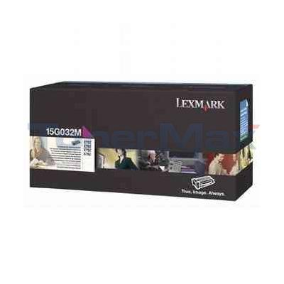LEXMARK C752 LASER PRINT CART MAGENTA 15K
